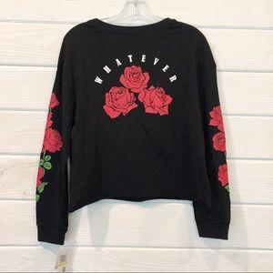 "💕2 for $20 Rebellious One ""Whatever"" Roses Print"